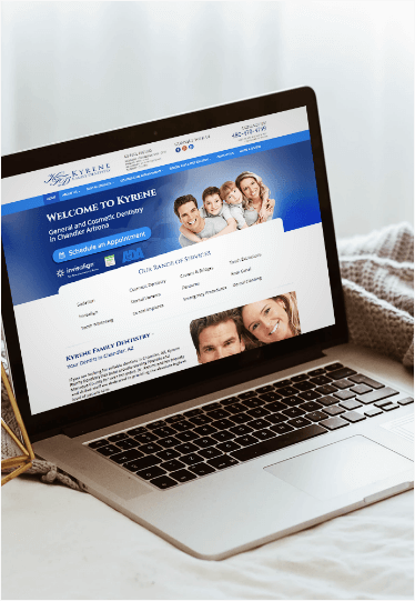 Digital Marketing Client - Kyrene Family Dentistry
