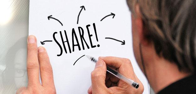 Convert existing data to other shareable content