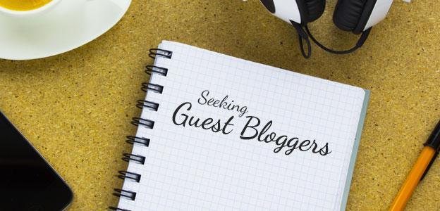 Invite guest bloggers