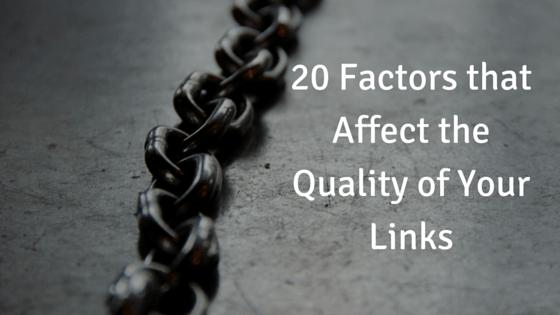 PrimeView SEO - Link Quality Factors