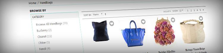 Magento product search result filtering