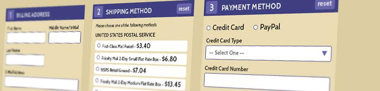 Allows different Payment Methods