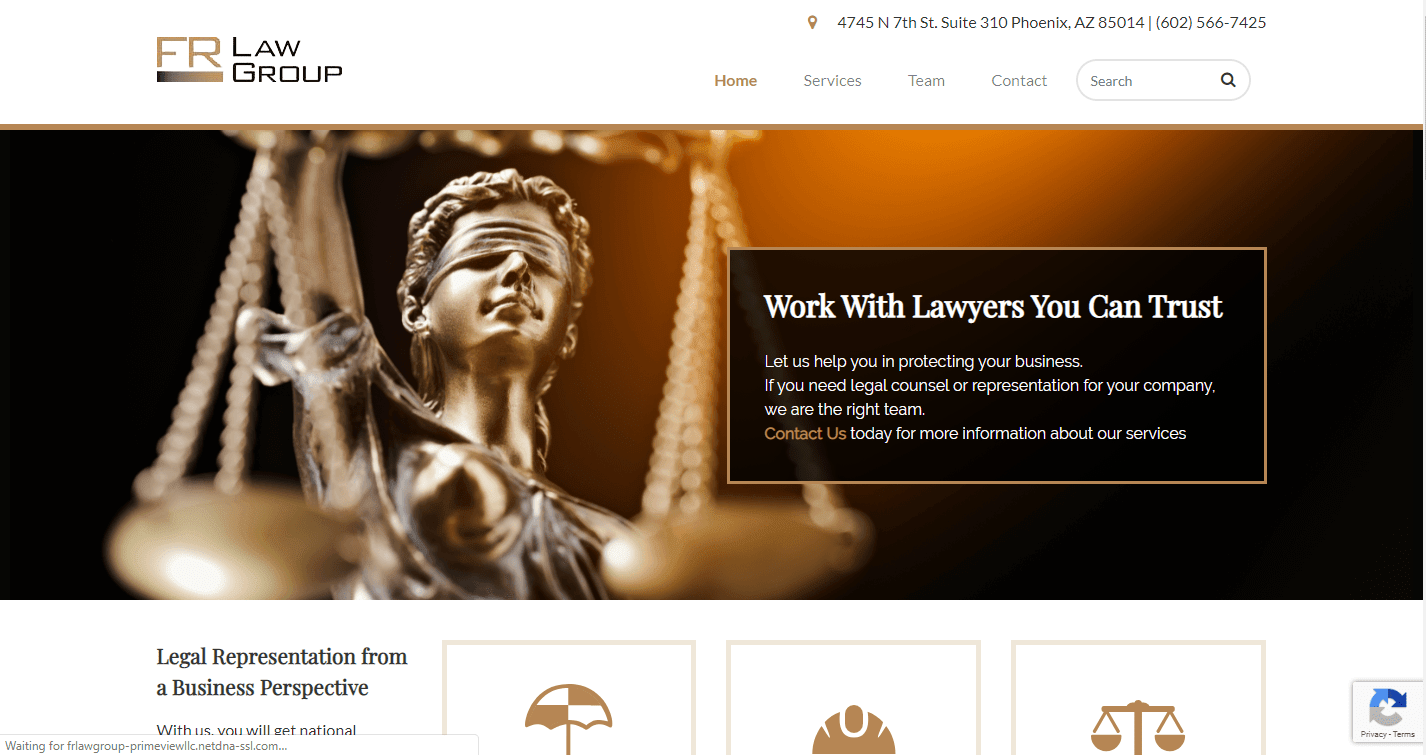 PrimeView Takes Legal Matters to the Digital Age — Launch of Redesigned FR Law Group Website