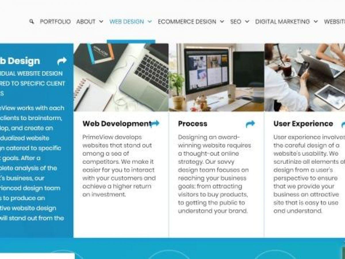 Improve User Experience With Mega Menus Az Web Design Primeview