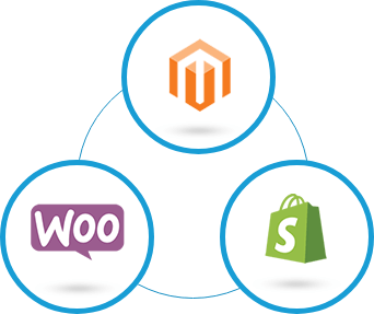 Icons of Top Ecommerce Platforms